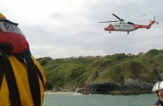 Four people rescued in three separate incidents on Wicklow beach