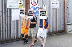 SIPTU shop steward hit by van at Greyhound picket