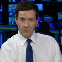 "UK finance minister George Osborne makes a hames of kid's question: ""What's 7 times 8?"""