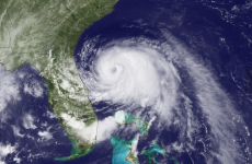 Hurricane churning just off North Carolina, it's expected to hit tonight