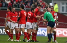 Keatley's falcon on Wayne Barnes and four other referee bloopers