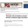 Garth Brooks debacle: The international coverage