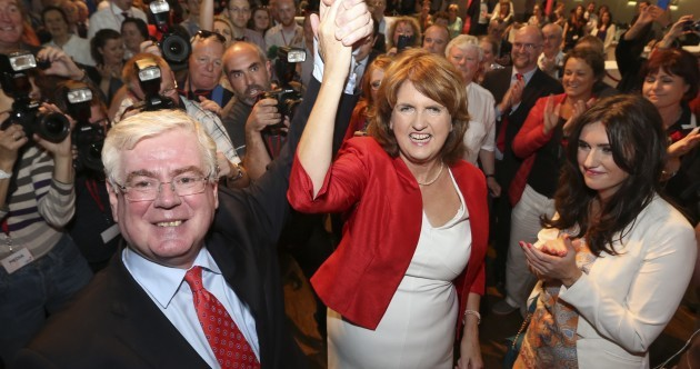"""Alex White concedes: """"This is Joan's day"""""""