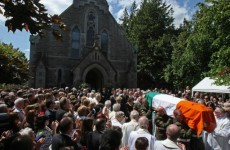 """Brian Lenihan funeral hears of """"great young man cut off in prime of life"""""""