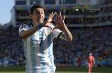 Don't cry for me, Di Maria! It's the sporting week in comments