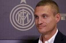 'Honoured' Nemanja Vidic gets to work with new club Inter