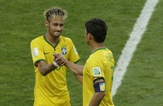 Captain Thiago Silva knees Brazil into early lead against Colombia