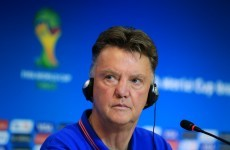 Van Gaal guards against complacency ahead of Costa Rica quarter-final
