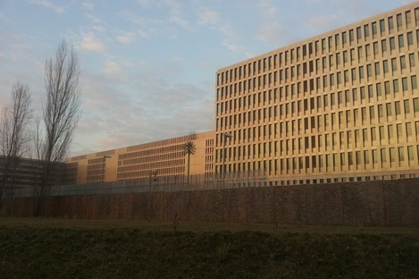 The HQ of German's foreign intelligence agency Bundesnachrichtendienst (BND)