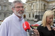 Step aside Garth Brooks, here's Gerry Adams singing If Tomorrow Never Comes