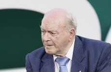 Footballing legend Di Stefano in coma after heart attack
