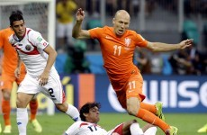 As it happened: Holland v Costa Rica, World Cup quarter final