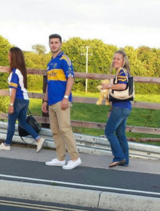Shane Long was back in Tipperary colours yesterday