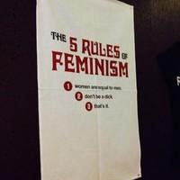 Caitlin Moran brings feminist tea towels to Dublin