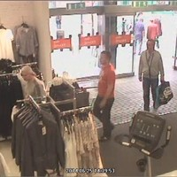 Three men on the run after stealing £800 worth of women's clothes