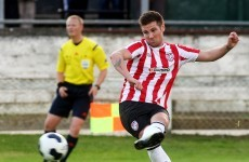 Magic McEleney goal gives Derry 1-0 win over Athlone Town
