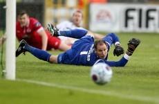 Two stunning Gary Rogers saves deny Cork City in Sligo