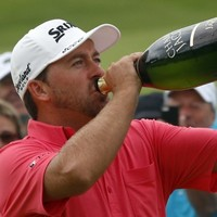 Champagne finish but McDowell started comeback with two glasses of wine