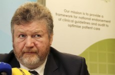 Has James Reilly been ringing Fine Gael backbenchers to try and save his job?