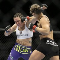 Unstoppable UFC champion Ronda Rousey takes opponent out in 16 seconds