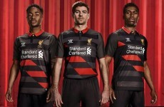 Check out Warrior's latest effort at the Liverpool third strip