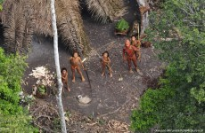 'Lost' Amazon Indians make first contact with outside world