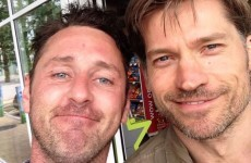 Jaime Lannister from Game of Thrones was hanging out at a Topaz garage in Swords