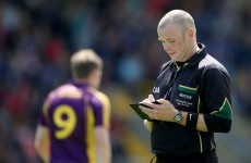 Wexford GAA release video highlighting referee's performance following Laois loss