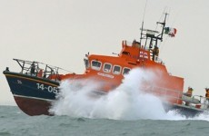 Three hospitalised after recreational rubber dinghy capsizes in Killiney Bay