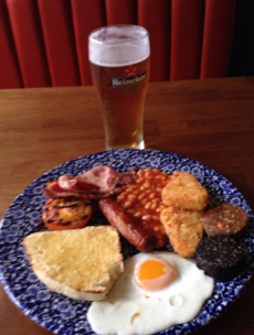 Open for business: Wetherspoon's first Irish pub serves its first customers