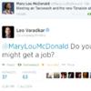 Leo Varadkar was throwing serious shade at Mary Lou McDonald last night