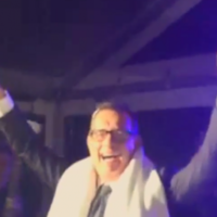 Here's Tom Hanks singing This Is How We Do It at a wedding