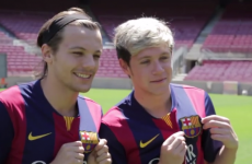 Niall Horan and 1D boys had the run of Camp Nou today