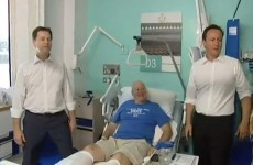 Cameron and Clegg's hospital visit interrupted by irate doctor