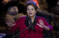Anger rises against Brazil's President after their thrashing last night