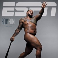 Prince Fielder the unlikely cover star of ESPN The Magazine's 2014 Body Issue