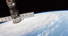 Astronauts take photos of storm causing devastation in Japan