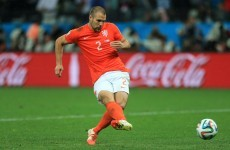 LVG: Two Dutch players turned down first penalty before Ron Vlaar stepped up