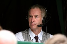 You can't be serious! McEnroe tells Murray to lighten up