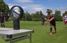 36-year-old Peter Stringer is still ripped and has a slick pass