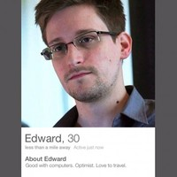 A fake Edward Snowden Tinder account was set up and the responses are amazing