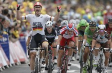 Greipel returns to form in sixth stage Tour de France sprint finish