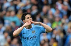Samir Nasri signs new five-year deal at Manchester City