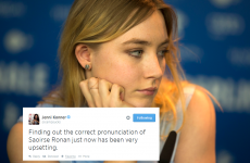 US TV exec struggles to comprehend Saoirse Ronan's name