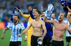 Tired and bruised Argentina keeping emotions in check with the prize in sight