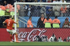 Should Ron Vlaar's penalty have counted against Argentina?