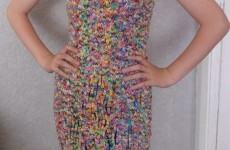 You can now own a loom band dress... for just €196,500