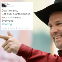 The world is truly baffled by Ireland's obsession with Garth Brooks