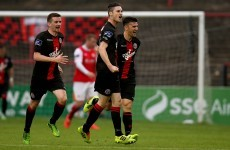Wearen's wonder gives Bohemians share of the spoils against St Pat's