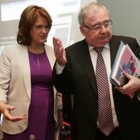 Joan Burton: 'It's always sad when Cabinet members have to go'
